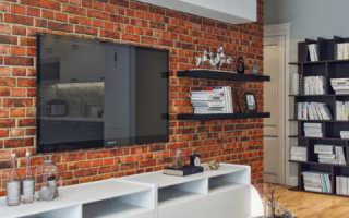 Отделка кирпичных стен внутри дома гипсокартоном