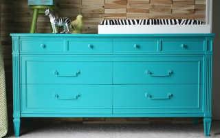 Чем покрасить ламинат мебельный?