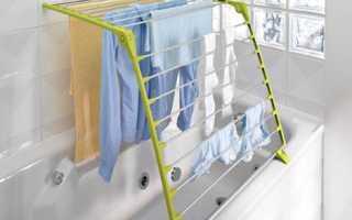 Где сушить белье в квартире без балкона?