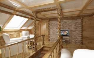 Как отделать второй этаж деревянного дома?