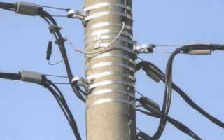 Подключение кабеля СИП к линии