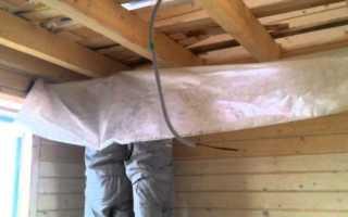 Гидропароизоляция для потолка в деревянном доме